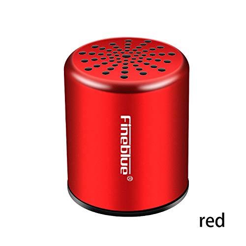 Fineblue MK-10 Bluetooth Speaker Portable Wireless Speaker Sound System Red (Speaker Mk Sound)