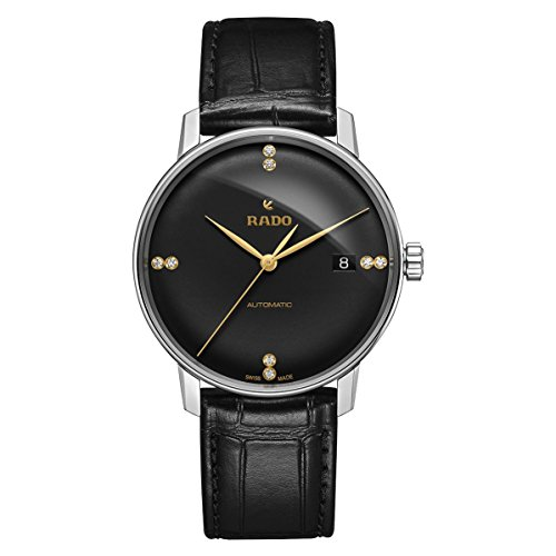 Rado-Coupole-Classic-L-Automatic-Black-Dial-Mens-Watch-R22860715