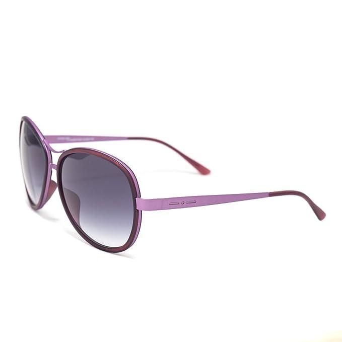 italia independent 0073-013-000 Gafas de Sol, Morado, 61 ...