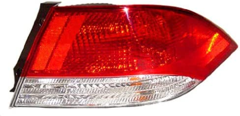 OE Replacement Mitsubishi Lancer Passenger Side Taillight Assembly Partslink Number MI2801113