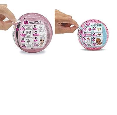 L.O.L. Surprise! Bundle of 2 Dolls LOL Glam Glitter Doll & LOL Eye Spy Pets Series