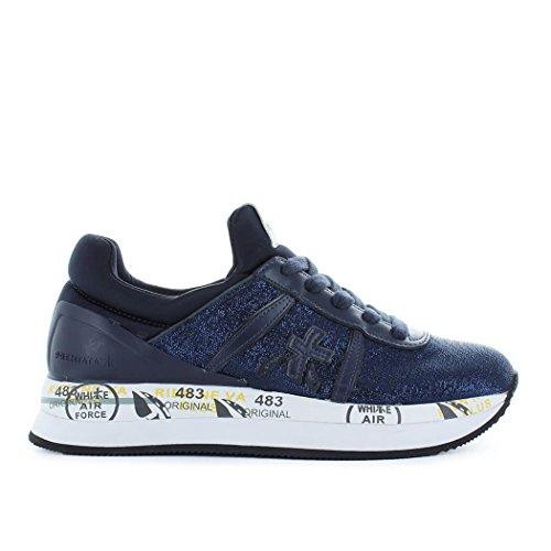 Premiata Mujer Zapatos Liz 3002 Sneaker Blue Spring Summer 2018