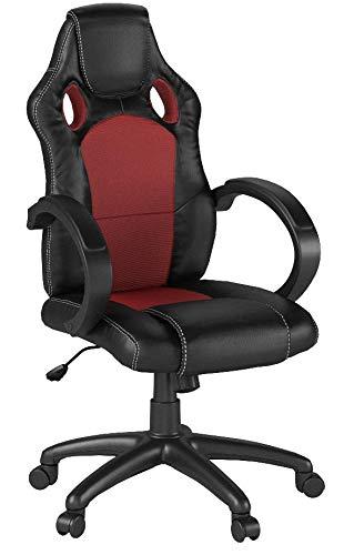 Best Choice Products de Carreras ejecutivo silla de oficina escritorio para computadora giratorio asiento de piel sintética de alta-parte pos