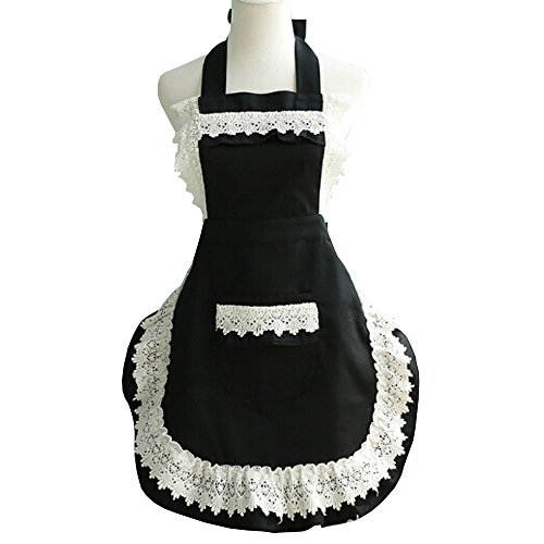 Marshel Women Apron Japanese Kawaii Maid Costume (Costumes Commission Uk)
