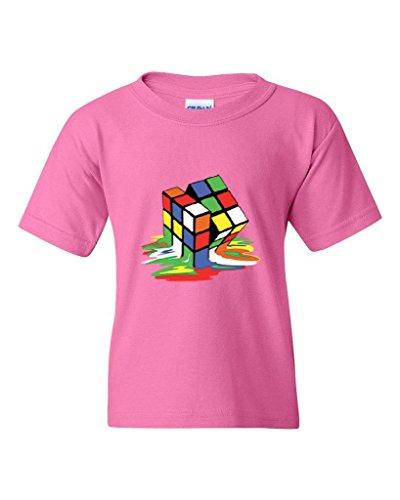 ARTIX Melting Rubiks Cube Rubik Cube People Best Friend Gifts Unisex Youth Kids  T-Shirt da979bb2a