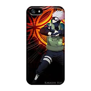 Iphone 5/5s YTK2643lVEM Support Personal Customs Trendy Naruto Shippuden Kakashi Hatake Series Best Cell-phone Hard Cover -JoanneOickle