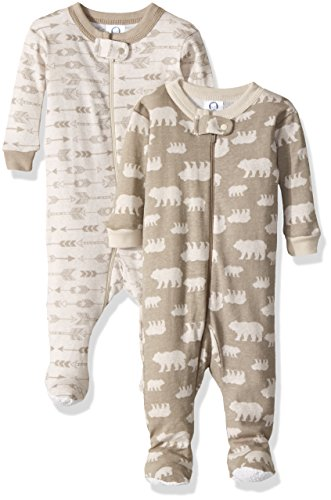 Large Product Image of Gerber Baby Boys' 2 Pack Footed Sleeper