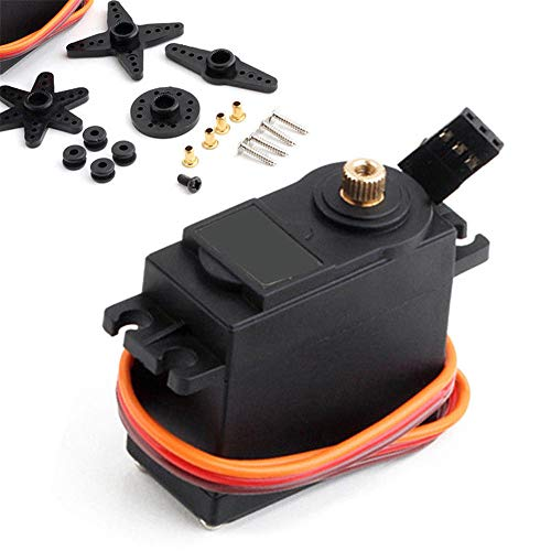(SMOXX MG995 360 High Torque Metal Gear RC Servo Motor Set For Boat Helicopter Car Kit Car Supplies Accessories/Replacement Parts)