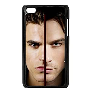 Personalized Custom Tv Series The Brothers The Vampire Diaries Ideas Printed for IPod Touch 4/4G/4th Phone Case Cover--WSM-052701-037