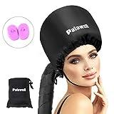 Bonnet Hood Hair Dryer Attachment - Soft Adjustable Hood Bonnet...