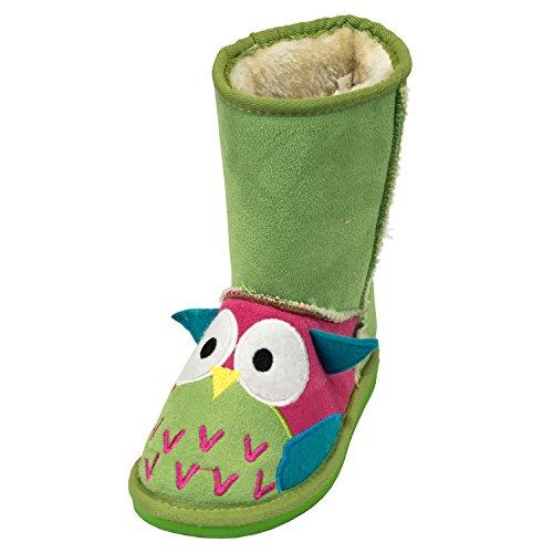 Owl Toasty Toez Kids Boots - Medium