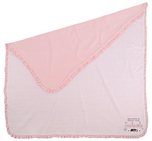 Outerstuff NFL Newborn Sweet Fan Blanket, Seattle Seahawks, Pink, 1 Size]()