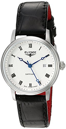 ELYSEE Women's 77008L Ladies-Edition Analog Display Quartz Black Watch