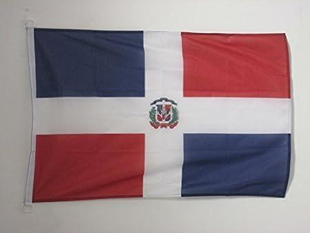 AZ FLAG Bandera de la REPÚBLICA Dominicana 90x60cm Uso Exterior ...