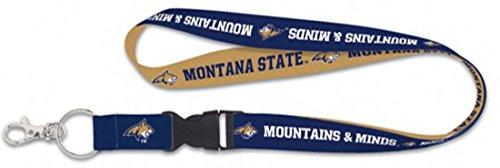 WinCraft Montana State Bobcats Premium Lanyard Key Chain, Mountains & Minds Edition