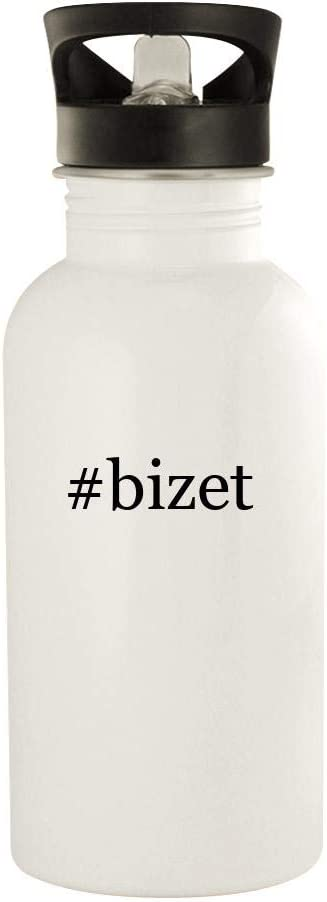 #Bizet - 20Oz Stainless Steel Water Bottle, White