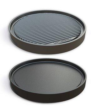 LotusGrill Parrilla Teppanyakiplatte Especialmente desarrollado para sin humo Parrilla de carbón Parrilla