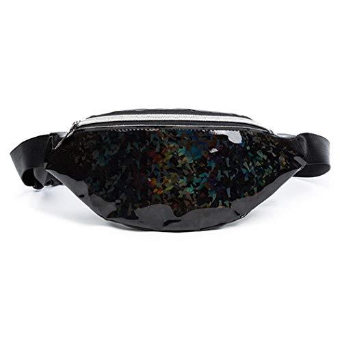 Benlet New Fashion Women Sequin Waist Bag Satchel Hobos Handbag Tote Purse Waist Packs