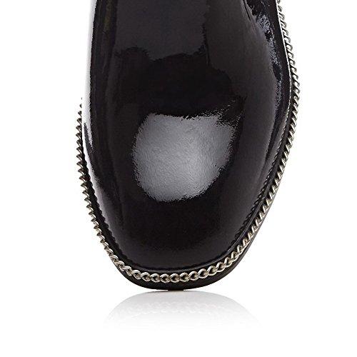 Aimint 5 Sandales Noir 36 Noir Femme EYR00281 Compensées rP6wvqar