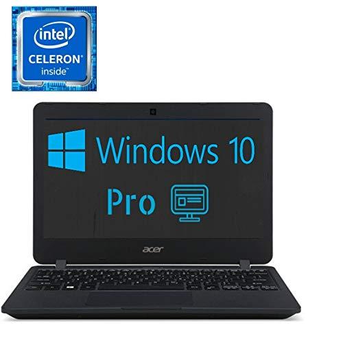 Acer Premium 11.6-inch HD LED Backlit (1366x768) Display Laptop PC, Intel Celeron Processor, 2GB RAM, 32GB eMMc Storage, Bluetooth, HDMI, USB 3.0, Windows 10 Professional, Customize SSD HDD -  Acer 11.6-inch W10P
