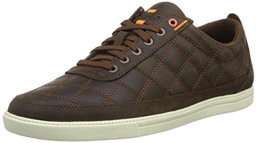 Timberland Newmarket FTB_Fulk Plain Toe Ox - zapatilla deportiva de cuero hombre marrón - marrón