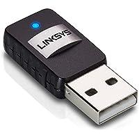 Linksys Wireless Mini USB Adapter AC 580 Dual Band (AE6000-RM2) (Certified Refurbished)