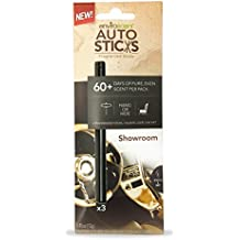 Enviroscent AutoSticks Aroma Diffusers for Cars, Showroom Fragrance, Box of 3