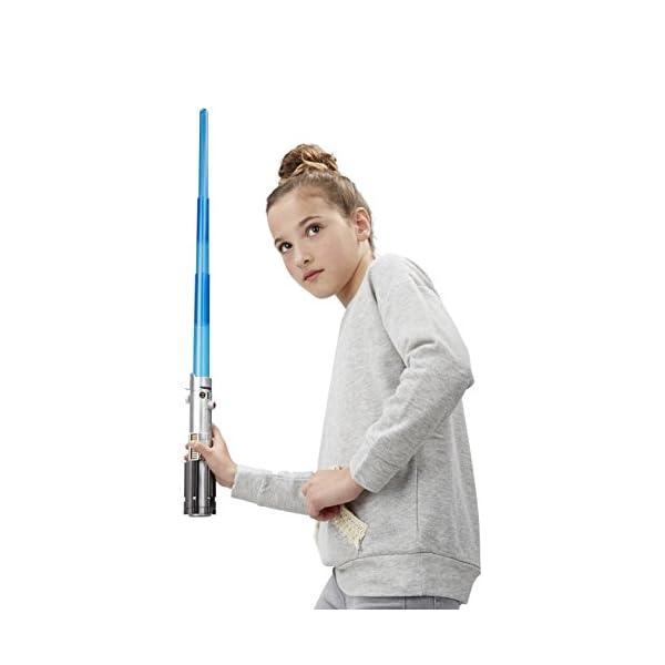 Disney Star Wars The Force Awakens Rey Electronic Blue Lightsaber