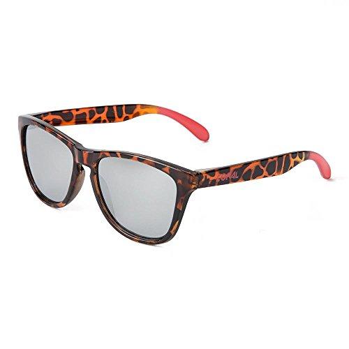 CORAL Sunglasses – MALIBU – Gafas de sol carey y lentes espejo. Acabado brillo mate