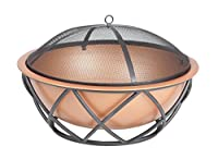Fire Sense Barzelonia Round Copper Look ...