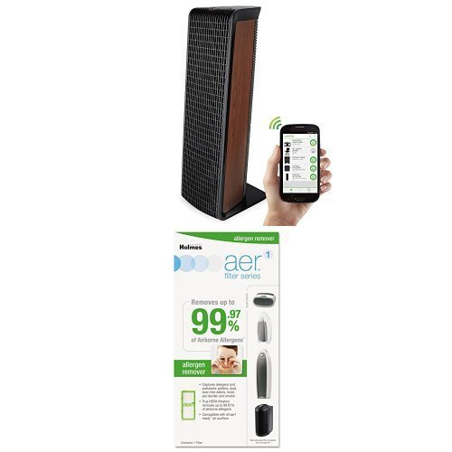Holmes Smart Wifi-Enabled WeMo True-HEPA Premium Air Purifier, WAP532 by Holmes