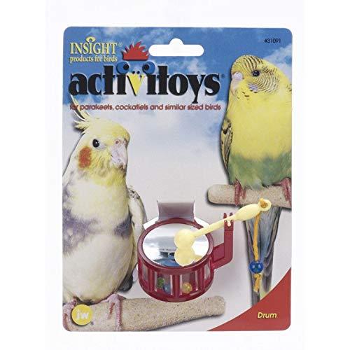 JW Pet Company Activitoys Drum Bird Toy (Drum Bird Toy)