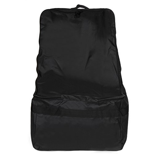 Full Size Car Seat Travel Bag - Black Carseat Carrier and Car Seat Bag for Airplane by Hope and Kisses (Image #7)