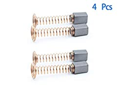 4 PCS Carbon Motor Brushes Compatible fo...