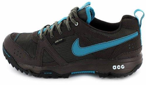 - Nike Lady Rongbuk Gore-TEX Waterproof Walking Shoes - 8.5 - Blue