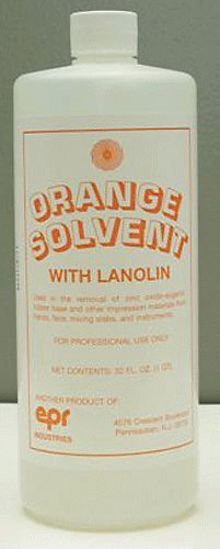 House Brand CE120 Orange Solvent Quart Bottle