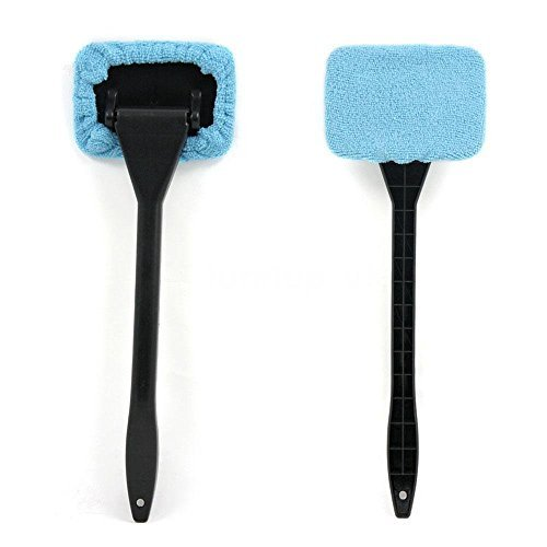 LanLan Microfiber Windshield Brush Car Glasses Cleaner Washable Cleaning Tool New 07YS - Use Wet or Dry