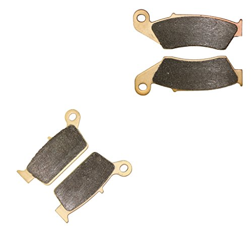 CNBK Sintered HH Brake Pad Set for HONDA Street Bike XR400 XR 400 cc 400cc Supermotard 2000 2001 2002 2003 2004 2005 2006 00 01 02 03 04 05 06 4 Pads