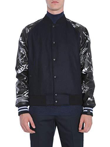 LANVIN Men's Rmlf0005a172910 Blue Wool Outerwear Jacket ()