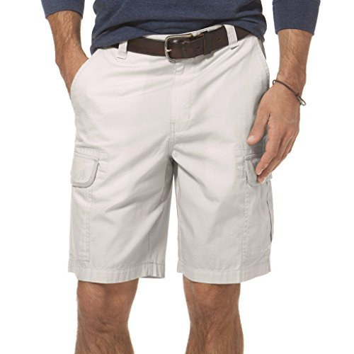 Chaps Men's Ripstop Cargo Shorts Stone 30 ()
