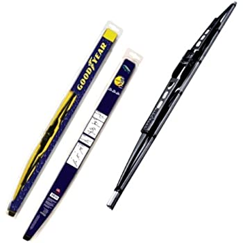 Goodyear Windshield Wipers >> Goodyear Gy Wb728 26 Black Premium Rubber Graphite Coated Wiper Blade 26 Pack Of 1