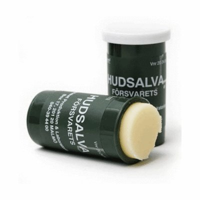Försvarets Hudsalva Original Military Balm, 2 pieces/Ointment 9 ml Valmed A/S