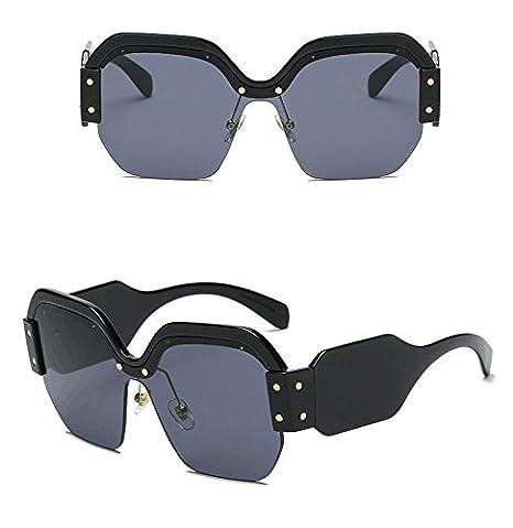 FORUU Glasses Women Vintage Sunglasses Retro Big Frame UV400 Eyewear Fashion Ladies