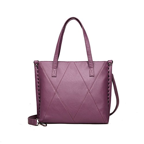 Ajlby Bag Korean Casual Fashion Shoulder Purple