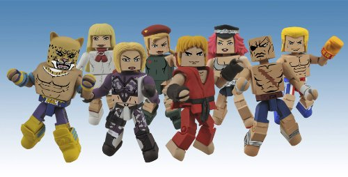 street-fighter-vs-tekken-series-1-minimates-complete-set-of-4-2-packs