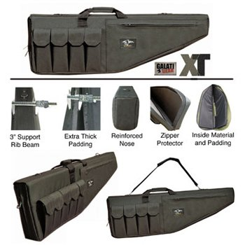 (Galati Gear Premium XT Rifle Case (Black, 35-Inch))