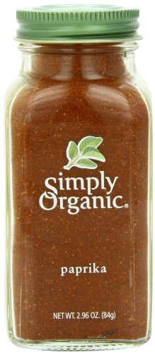 Simply Organic Paprika Ground, 2.96 Ounce Container