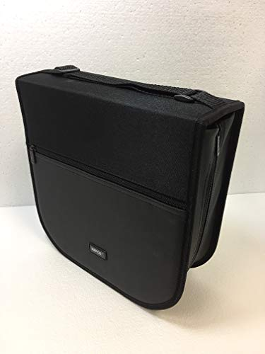 HipCE Portable 256 CD/DVD Wallet (Black) by HipCE