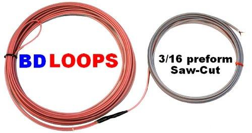 (BD Loops SC52-50 16 AWG Preformed Saw cut Loop 6' x 20' or 4' x 22')