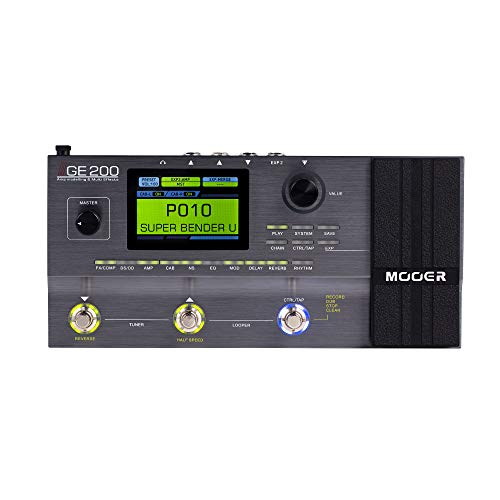 MOOER GE200 Multi Effects Pedal